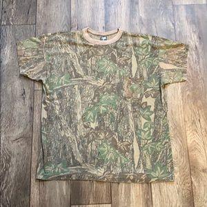 Vintage 90s Camo Shirt